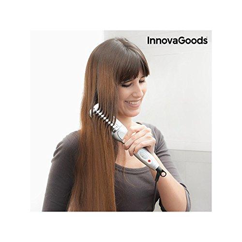 InnovaGoods Cepillo Alisador Eléctrico con Recubrimiento Cerámico, 25 W - 1 Unidad