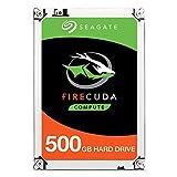 Seagate ST500LX025 HDD Interno da 2.5', Nero