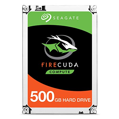 Seagate FireCuda 500 GB interne Hybrid Festplatte (6,4 cm (2,5 Zoll) 64 MB Cache, Sata 6 Gb/s) Modellnr.: ST500LX025