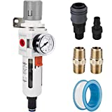 NANPU 1/2' NPT Compressed Air Filter Regulator...