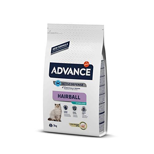 ADVANCE Hairball Pienso para Gato Esterilizado - 3 kg