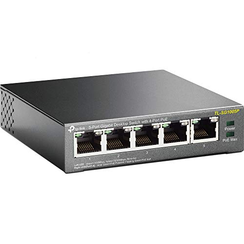TP-Link TL-SG1005P 5 Port Gigabit Ethernet PoE Desktop