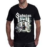 Menbone Casual Men's t Shirt Fashion Sabaton Printed t-Shirts Male Short Sleeve Camisetas Tops&Tees