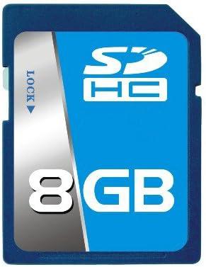 Professional SCT SD SDHC 8GB (8 Gigabyte) Memory Card for Nikon D40 D40x D60 D80 D90 D300s D700 D3000 D5000 with custom formatting