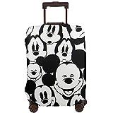 Caricaturas Mickey Mouse Muchos Viaje Maleta Cubierta Protectores Cremallera Lavable Trolley Case Protectora