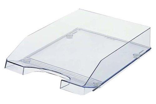 Leitz Plus Briefkorb, Transparent, A4, Glasklar, 52260002