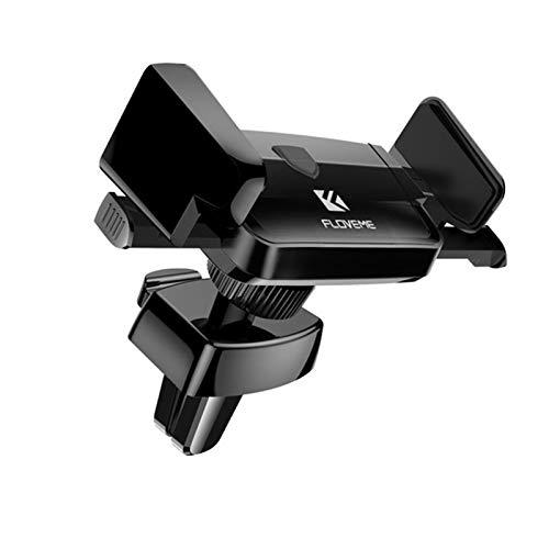 ALOMIN Soporte for teléfono ventilación del Agujero del Coche fácil Llevar Funciones Completas operación Simple Soporte del teléfono (Couleur : All Black)