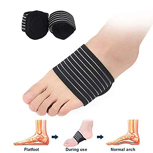 Pedimend Foot Arch Support Insoles - Plantar Fasciitis Insole - Cushioned Shoes Insert - for Fallen Arches - Feet Heel Pain Relief - Reduces Cramps & Stiffness/Shock Absorber Pad (Five Pairs)