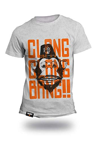 Call of Duty Black Ops 4 Clang Clang Bang Graphic T-Shirt Size L