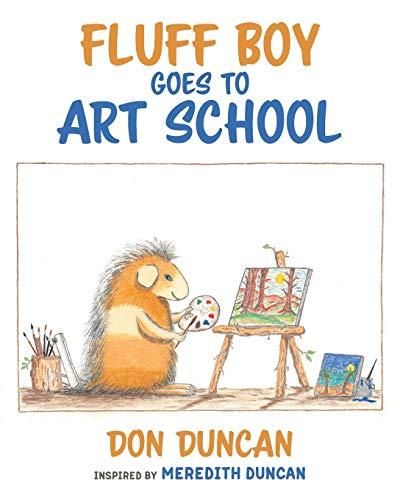 Fluff Boy Goes to Art School