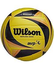 Wilson Balón de Voléibol, Optx Avp Vb Replica Mini, Miniatura del Balón Oficial de La Avp del 2017