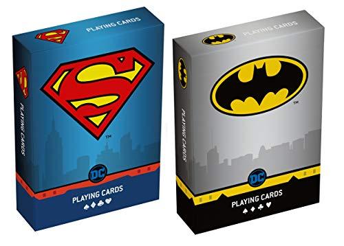 Cartamundi Duopack Playing Cards da Collezione Batman & Superman