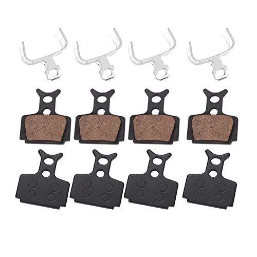 Wallfire Kits de Pastillas de Freno de Disco de 4 Pares para fórmula r1 r1r ro RX t1