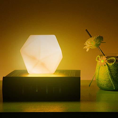 Nachtlicht Kinder, CNSUNWAY Nachttischlampe für Baby Kind, USB Wiederaufladbares Nachtlampe Kinder, 10 Farben und 3 helligkeitsverstellbare tragbare Nachtlicht, für Babyzimmer, Schlafzimmer, Kinder