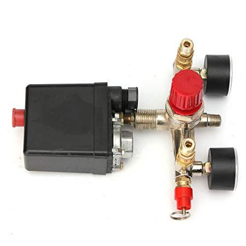 CLJ-LJ Ajustable Regulador de presión del compresor de aire con válvula de control de Muestra
