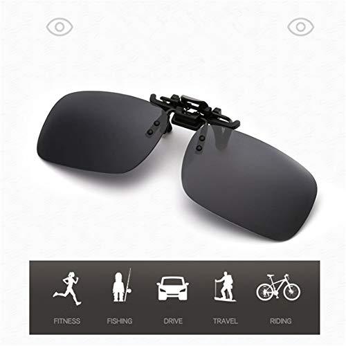 NT Fahrradbrille, UV-Sicherheits-Augenschutz Polarisierte aufklappbare Sonnenbrille zum Aufklappen, leicht, kompakt, verbesserte Sicht, reduzierte Blendung, nur 9 Gramm schwer