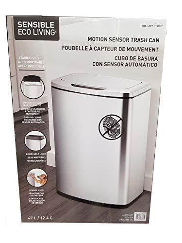 EKOフタ付きゴミ箱シルバー47L1193777