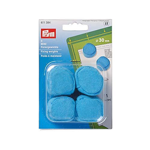 Prym 611384 Fixiergewichte, Baumwolle und Sand, Blau