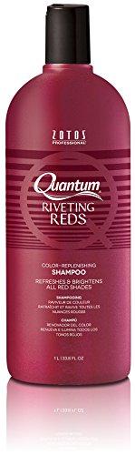 Quantum Colors Color Replenishing Shampoo, Riveting Reds, 33.8-Ounce