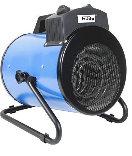 Güde Elektroheizer Heitgerät 5 kW / 400 V Starkstrom mit Thermostat & Überhitzungsschutz