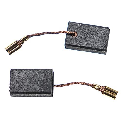 vhbw 2x escobilla carbono motor carbones 17 x 10 x 6 mm compatible con Bosch 3 601 G90 0R0, 3 601 G91 000, 3 601 G91 0R0 herramientas eléctricas
