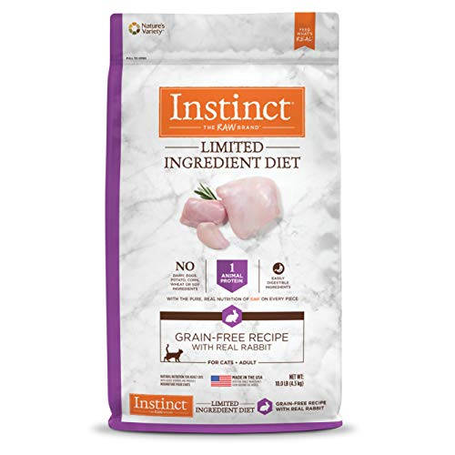 Instinct Limited Ingredient Diet with Real Rabbit Natural Dry Cat Food | Chewy
