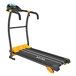 BEST PRICED TREADMILL WITH MANUAL INCLINE AND PULSE SENSORS! This amazing treadmill, usually reserved for only the most expensive models. A great way to workout at home, improving cardiovascular fitness, general conditioning and toning lower body mus...