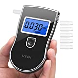 vtin TST-VN High Sensitivity Electronic, Approved Breathalyzer Precise Display 3 Units with LCD Screen, Breathalyzer 5 Additional Tips Model CE19