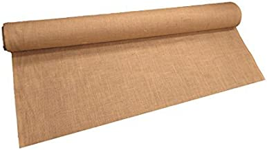 LA Linen 60-Inch Wide Natural Burlap , 10 Yard Roll