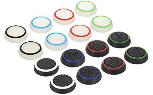 Controller Planet Thumbstick Grip Kappen für PS4 (16er Set) | Controller Aufsätze für besseren Grip und Schutz der Sticks | Optimierte Passform für besonders festen Halt