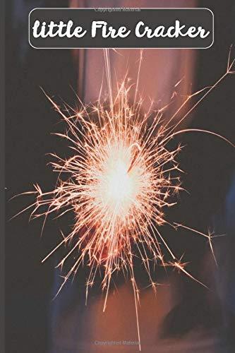 Little Fire Cracker: Firework fuse ,wedding sparkles , 4th of july sparklers , diwali firecrackers , fireworks sticks , party,birthday , notebook , journal