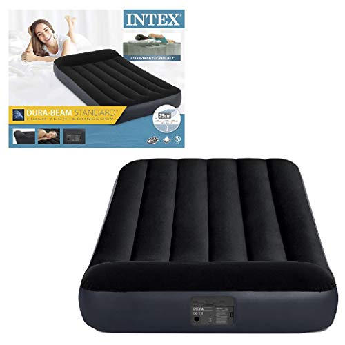 Intex 64146Np Pillow Twin Bed, 99 X 191 X 25 Cm Luchtbedden