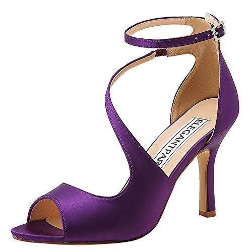 Top 10 best selling list for purple flat peep toe shoes
