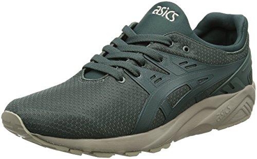 ASICS Herren Gel-Kayano Trainer Evo Sneaker, Grün (Dark Forest/Dark Forest 8282), 44.5 EU