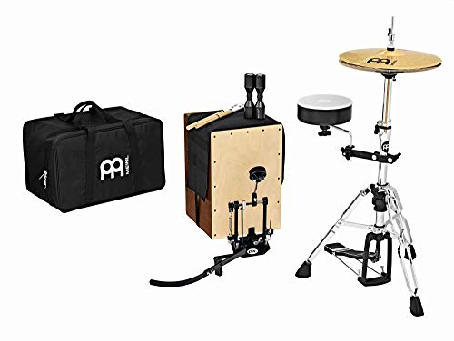 Meinl Percussion Cajon Drum Set with Hihat Cymbals and Hardware (CAJ-DRUMSET-3)