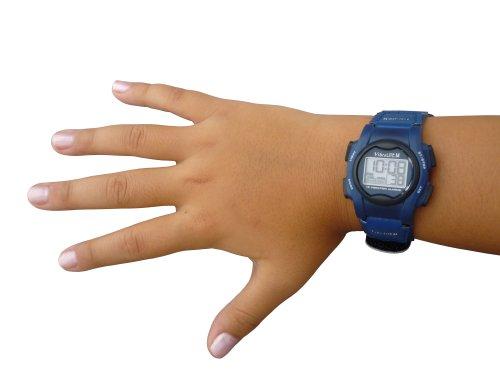 Pivotell Vibralite Mini Armbanduhr, Alarm, Blau