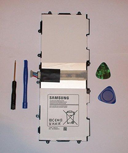"""batería de Repuesto para Samsung Galaxy Tab 310""""GT-P5200, GT-P5210, GT-P5213, GT-P5220, 6600mAh, 25.84WH, 3,8V, T4500E Battey + Libre Apertura Pry Herramientas"""