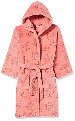 Sanetta Mädchen Morningcoat rosa Baby-und Kleinkind-Bademantel, Rose Cream, 104
