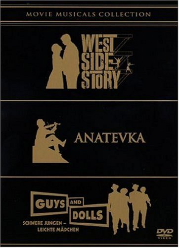 Movie Musicals Collection - West Side Story / Anatevka / Guys and Dolls [5 DVDs]