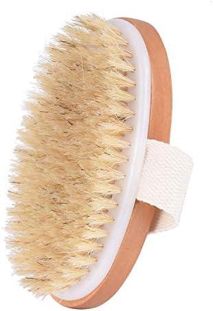 Waitrose Dry Body Brush Exfoliator Soft Natural Bristle Dry Brushing Body Brush Dry Brush For product image