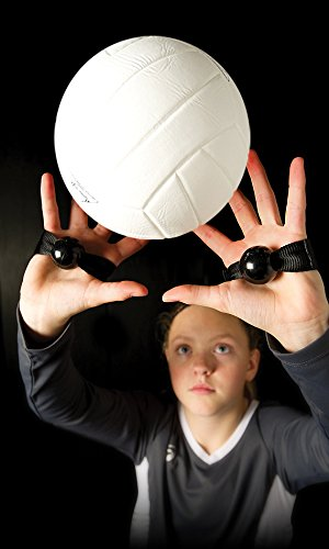 Tandem Sport Set Rite, Volleyball Setting Technique Training Aid, Prevents Excessive Hand Contact (2 Straps)