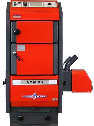 ATMOS Pelletkessel Typ P 15-45 kW Pelletheizung Heizung Pellet Zentralheizung Auswahl Atmos P.50 + A45 Brenner