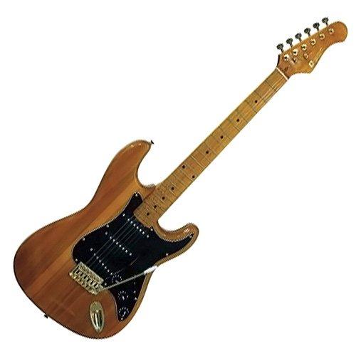 Dimavery 26211150 ST-303 E-Gitarre amber