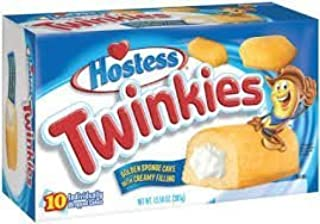 Hostess Twinkies, 10 Boxes (100 Pieces)