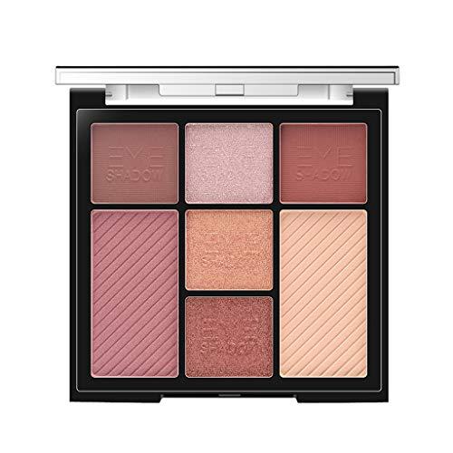 Nourich Professionnel Maquillage Palette de Maquillage Pigmenté Shimmer Glitters Eye Shadows Smokey Matte Palette Maquillage Étanche Longue durée Fard à Paupières Yeux pour femmes filles (02#)