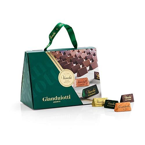 Venchi Borsina Gianduiotti - Confezione Regalo - con Nocciole Piemonte IGP - Senza Glutine - 150 gr