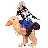 FFSM Pantalones de Vestir Avestruz inflables, Montando el Moho del Aire Ropa Animal, Ropa WKY Inflable plm46