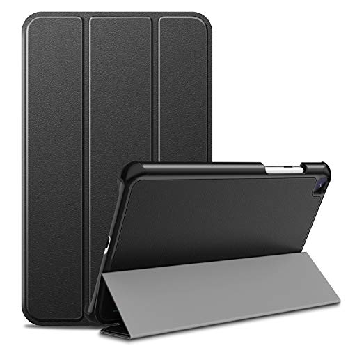 Ztotop-hoes voor Samsung Galaxy Tab A 8.0 inch 2019 SM-T290 / SM-T295, ultradunne smartcase, drievoudige standaard beschermhoes voor 8.0 Samsung Galaxy Tab A 2019 tablet zonder S Pen, zwart