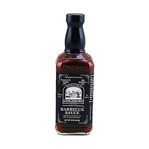Jack Daniels Lynchburg Tennessee Whisky Sweet & Mild Barbacoa