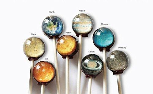 【 惑星キャンディー 】 Planet Lollipop オリジナルギフトボックス入り 6個パック ホワイトデーに [並行輸入品]